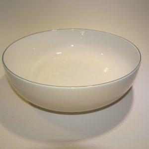 4 all Season grøn, kartoffel skål, Royal Copenhagen. Kgl. porcelæn. Kongelig porcelæn.
