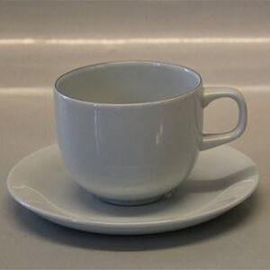 Blåkant, fajance ny høj kop, Royal Copenhagen