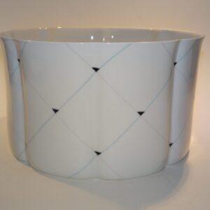 Ann-Sofi Romme, porcelæns skål, Royal Copenhagen