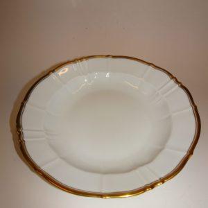 Offenbach, dyb tallerken porcelæn, Bing & Grøndahl
