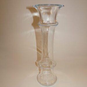 MB, solitaire vase, Holmegaard. Klart glas, Michael Bang