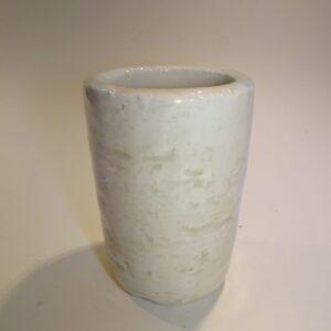 Gunnar Nylund, hvid keramik vase, Rørstrand