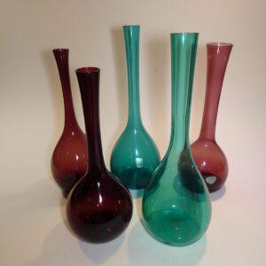Bulb, glas vase, Elme og Eneryd