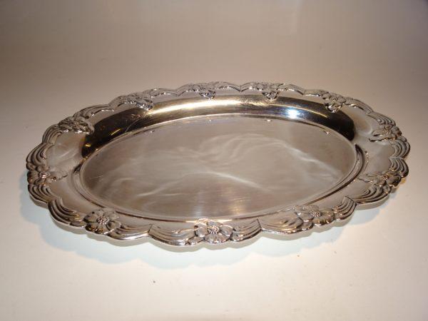 Sølvpet serveringsfad 31 cm