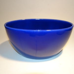 Ursula fajance stor skål 20 cm, blå, Royal Copenhagen, Ursula Munch-Petersen