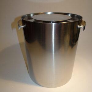 Stelton stor isspand, vinkøler, champagne køler, Cylinda Line, Arne Jacobsen
