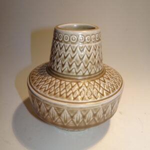 Gunnar Nylund, Scherzo vase, Rörstrand. H: 11,5 cm høj.