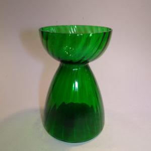 Hycintglas, grønt glas, svensk | Klart grønt glas.