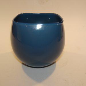 Quadro urtepotte petroleumsblå lille