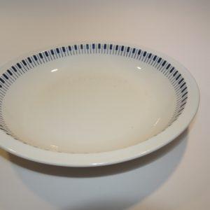 Tangent dyb tallerken, Lyngby Porcelæn