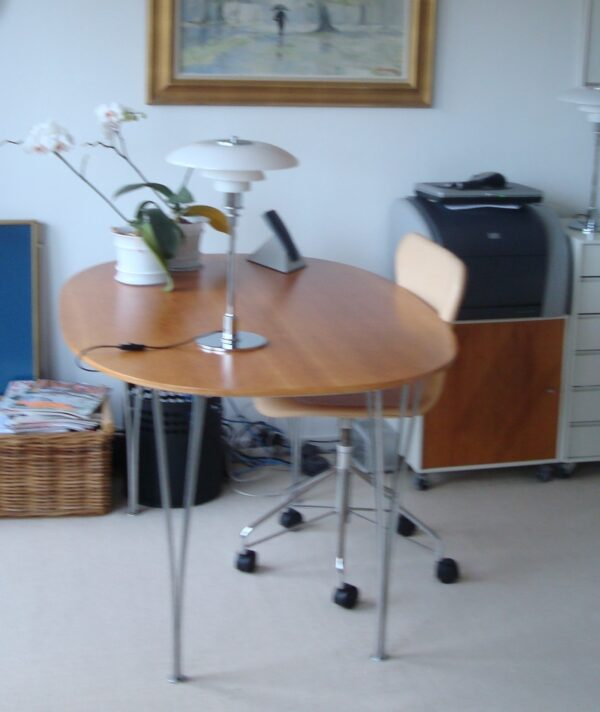 Piet Hein elipsebord i kirsebær 135 x 90