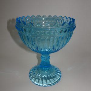 Mariskooli fra Iittali i lyseblåt glas, 15 cm