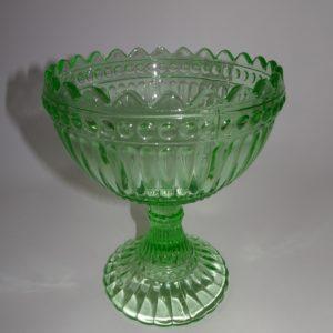 Mariskooli fra Iittali i lysegrønt glas, 15 cm