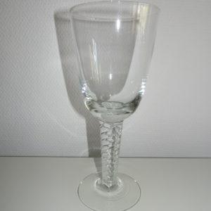 Amager Twist stort pokal glas, Holmegaard