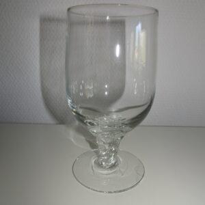 Amager Twist øl glas, Holmegaard