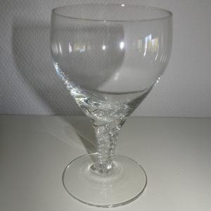 Amager Twist hvidvins glas, Holmegaard
