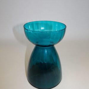 Hyacintglas i petroleumsfarve, svenskt