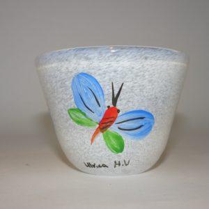 Miniature skål fra Kosta Boda af Ulrika Hydman-Vallien
