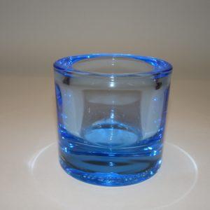 Kivi Marimekko Iittala fyrfadsstage 6 cm i isblå