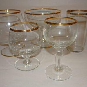 Glas, vin- og barserier
