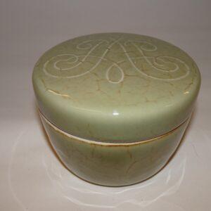 Speciallavet til N.Y. Park Avenue hotel, keramik krukke av Stålhåne,